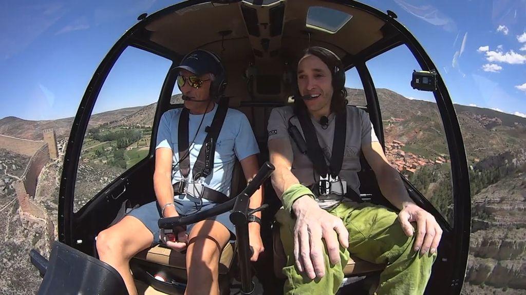 Jesús Calleja visita Albarracín en 'Volando voy', programa de Cuatro