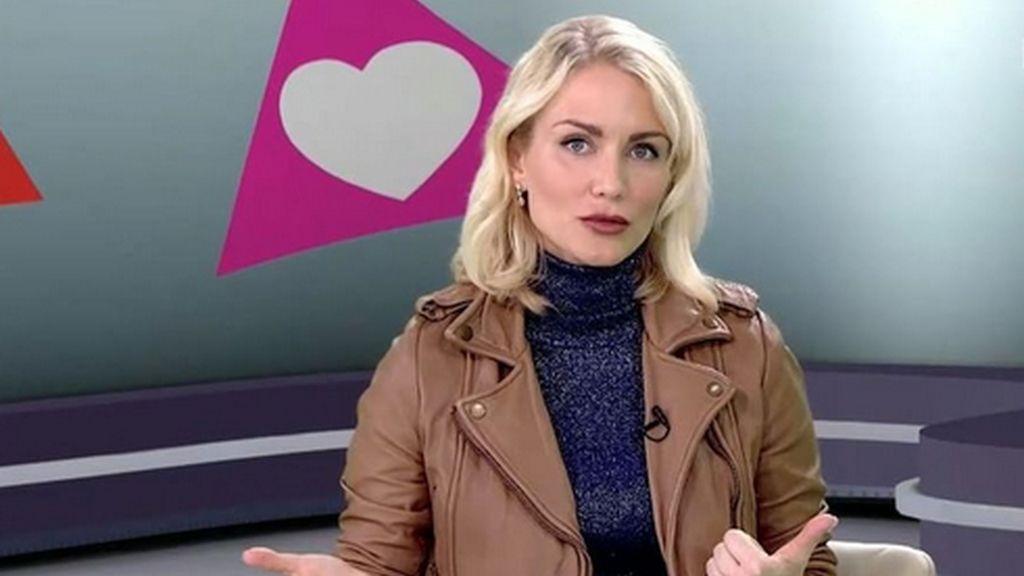 La periodista rusa Ekaterina Gordon