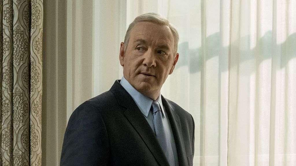 Kevin Spacey en la quinta temporada de 'House of cards'