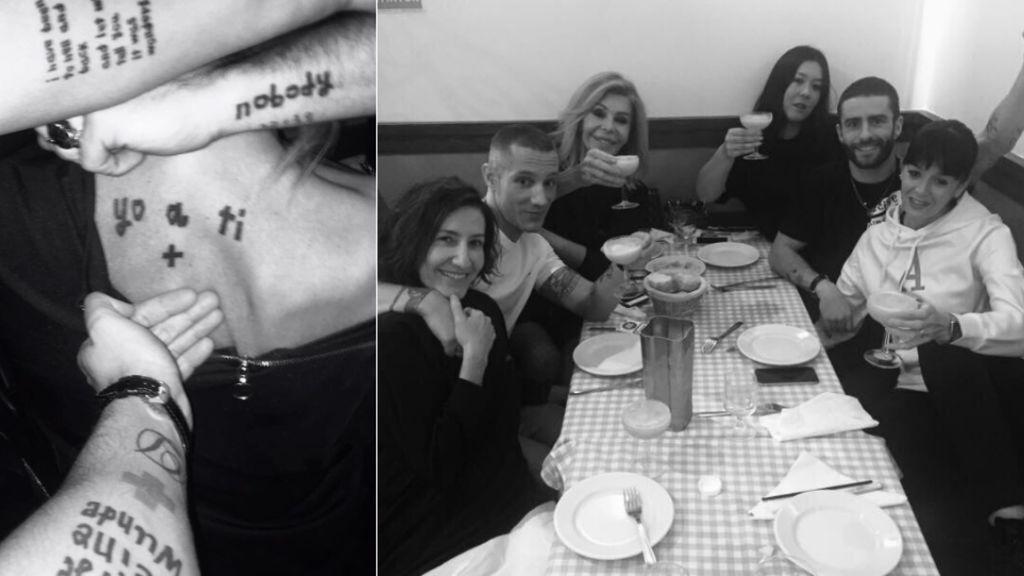 David Delfín, bajo la piel: sus amigos comparten 'tatoos' en el homenaje por su cumpleaños 🐬🐬