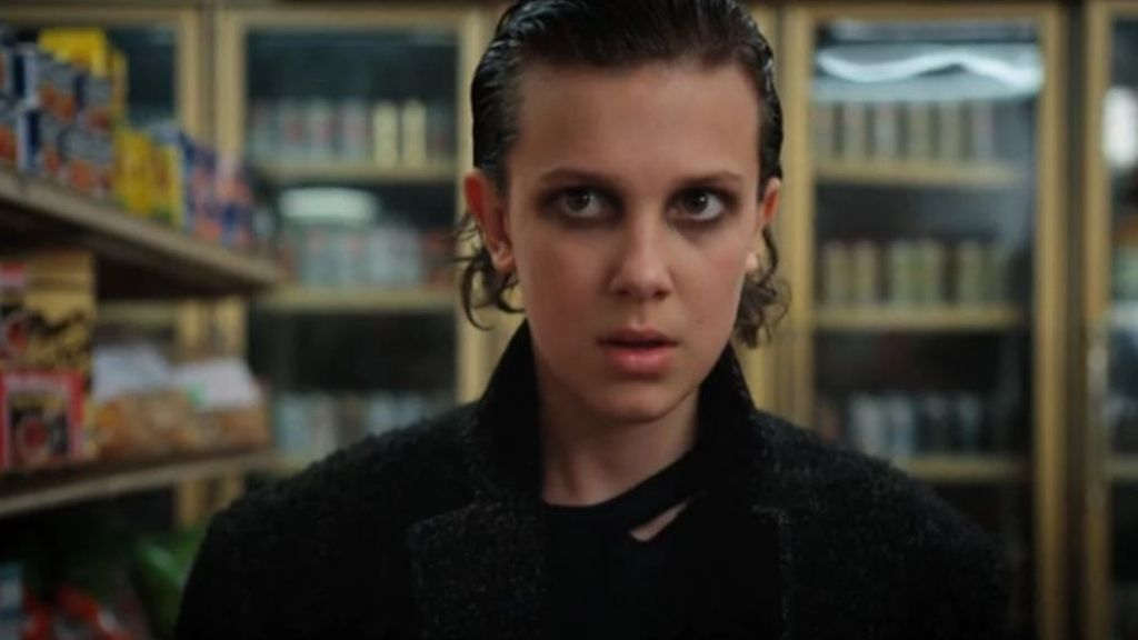 Millie Bobby Brown es 'Eleven' en 'Stranger things'