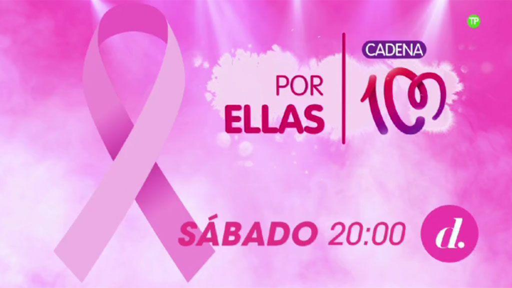 Divinity emitirá en directo la nueva edición del concierto solidario CADENA 100 'Por Ellas'