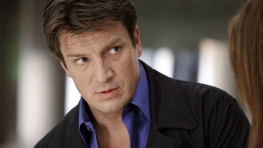 El actor Nathan Fillion en la 7º temporada de 'Castle'