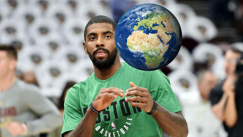 ¡Todavía no se lo cree! La estrella de la NBA Irving sigue afirmando que la tierra es plana