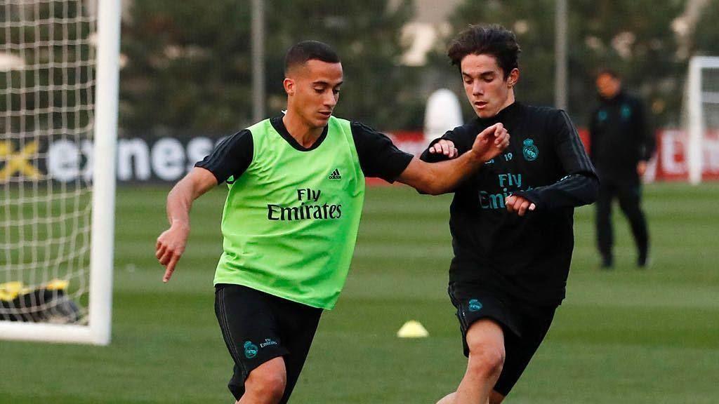 Sergio Arribas, el joven de 16 años que ya ha entrenado con el primer equipo del Real Madrid