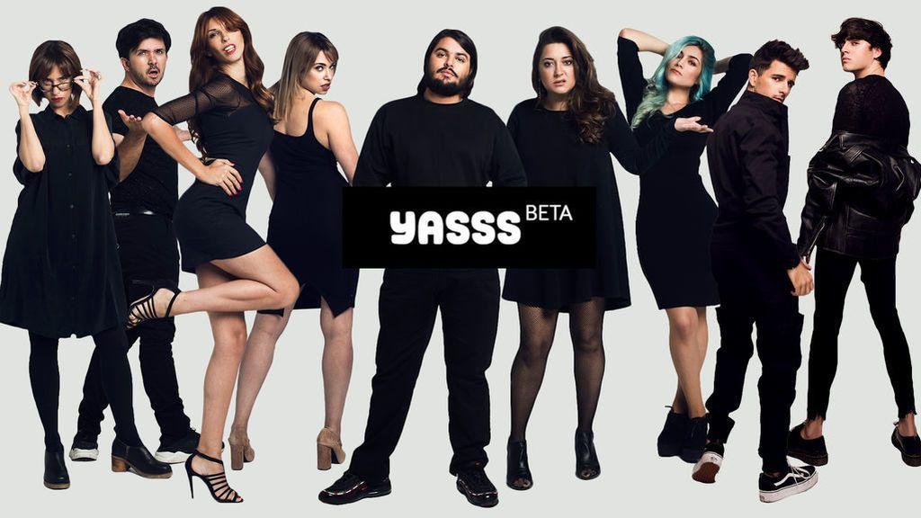 El primer programa de YASSS (Beta) con Valentina, de RuPaul, como madrina,  completo
