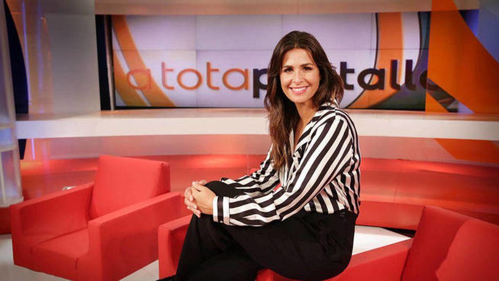 Nuria Roca, expresentadora de 'A tota pantalla' en TV3
