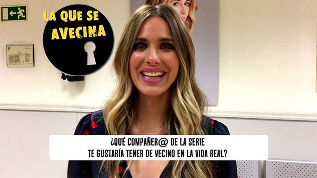 """Vanesa Romero (LQSA) confiesa qué le une a Raquel y la otra """"vecina"""" que querría ser"""
