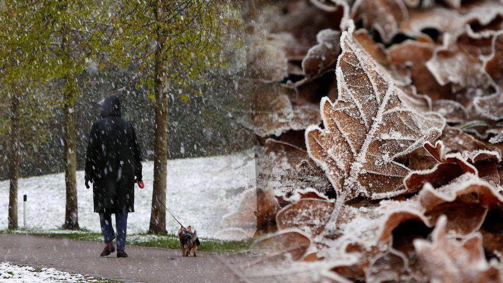 Con la nieve también llegan las heladas: ¿dónde tendrás que tener cuidado?