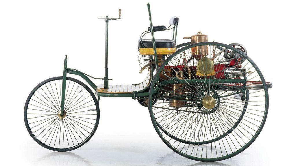 Hace 131 años que se fabricó el primer automóvil