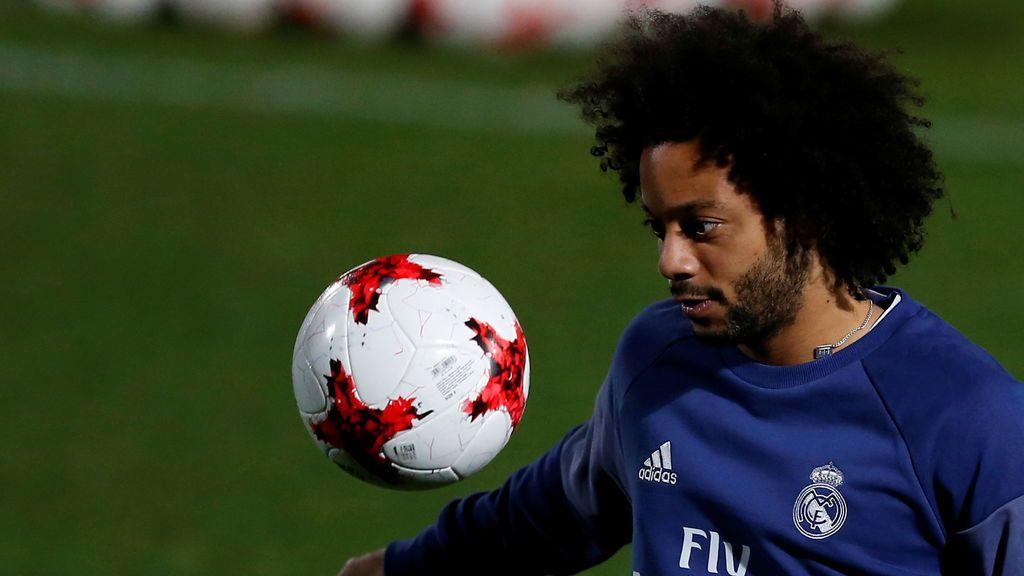 El 'Zasca' de Marcelo a un aficionado que le recriminó los balones que pierde