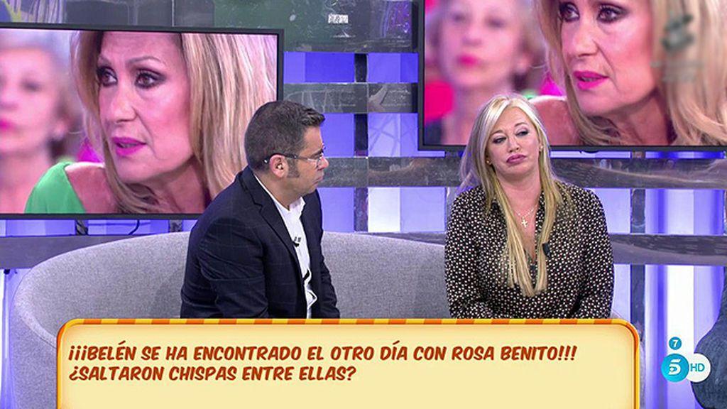 """El reencuentro de Rosa Benito y Belén Esteban: """"Se nos saltaron las lágrimas"""""""