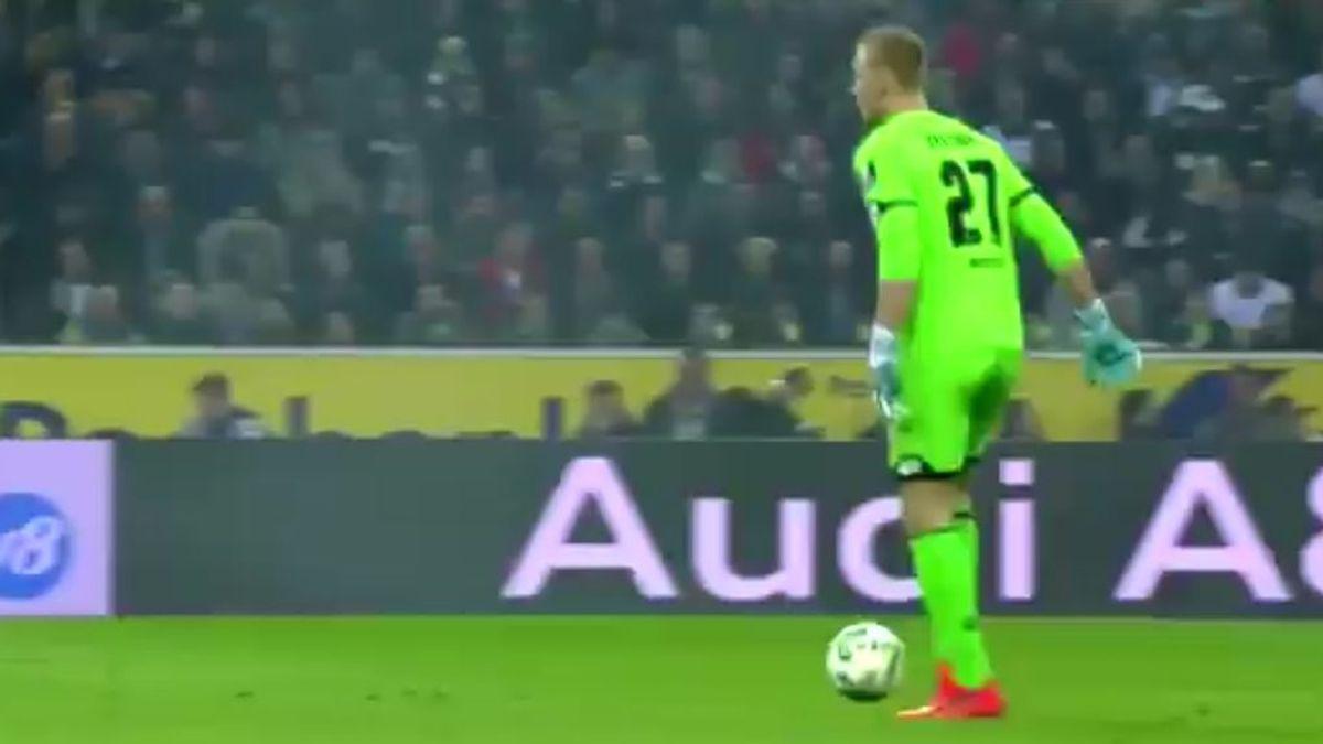 ¿Balón fantasma? El error más cómico del portero del Mainz que se ha hecho viral