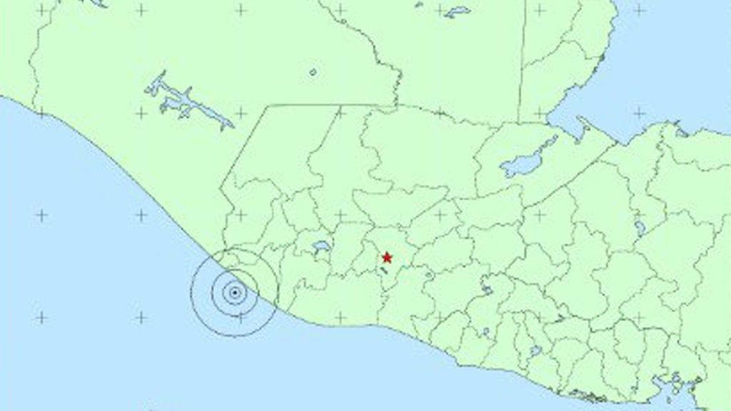 Un potente terremoto sacude Guatemala