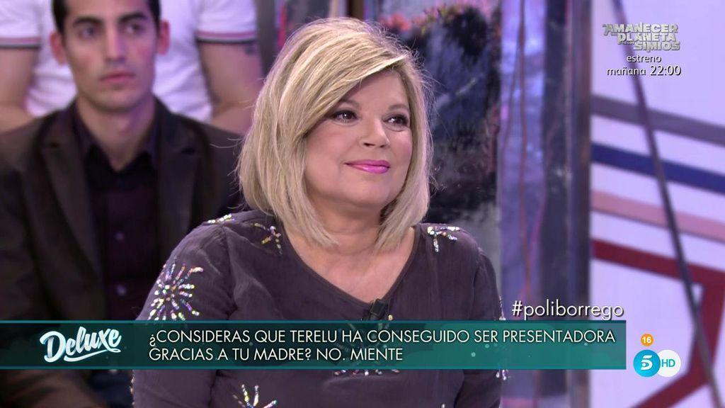 Terelu, de piedra porque Carmen considera que ha sido presentadora gracias a su madre