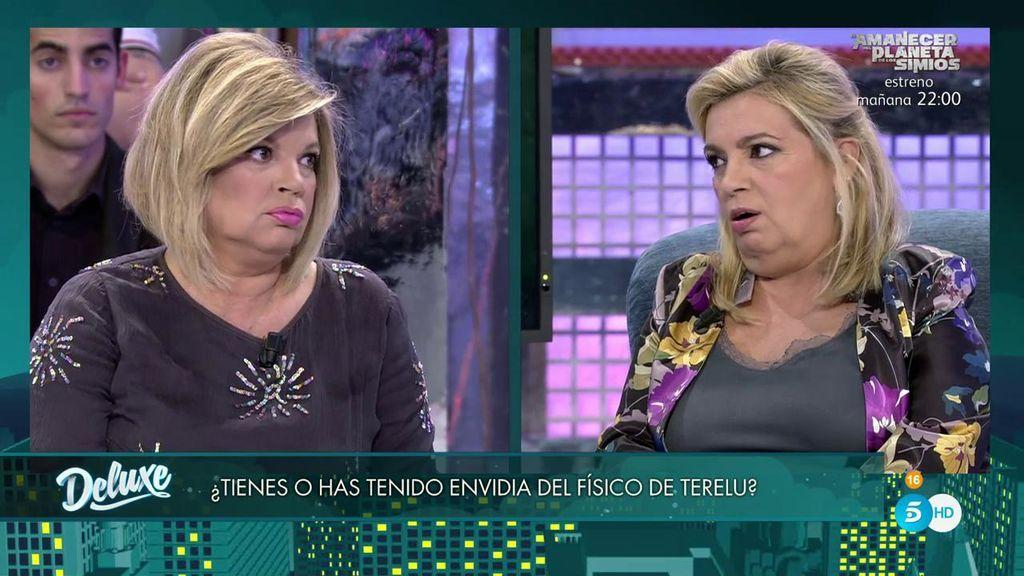 Carmen Borrego niega tener envidia del físico de Terelu y el polígrafo determina...
