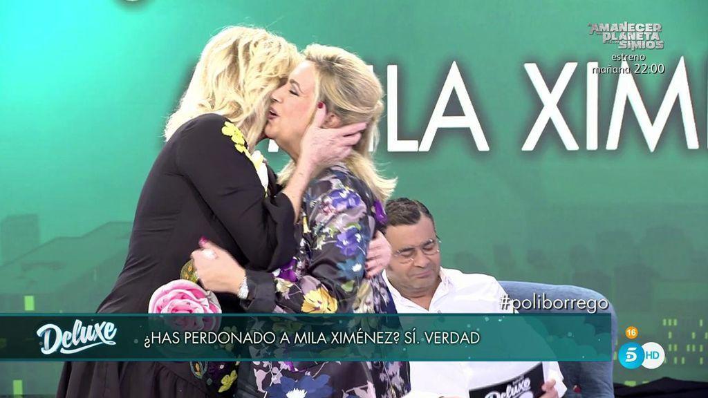 ¡El abrazo más esperado ha llegado! Carmen Borrego ha perdonado a Mila Ximénez