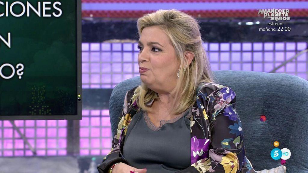 Carmen Borrego confirma la relación con un famoso y Terelu da todos los detalles