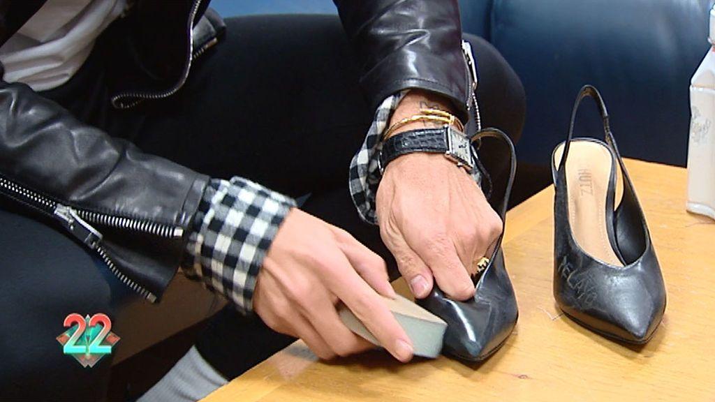 2e4eb1ab cambiame: ¡Toma nota! Pelayo te enseña a customizar tus zapatos