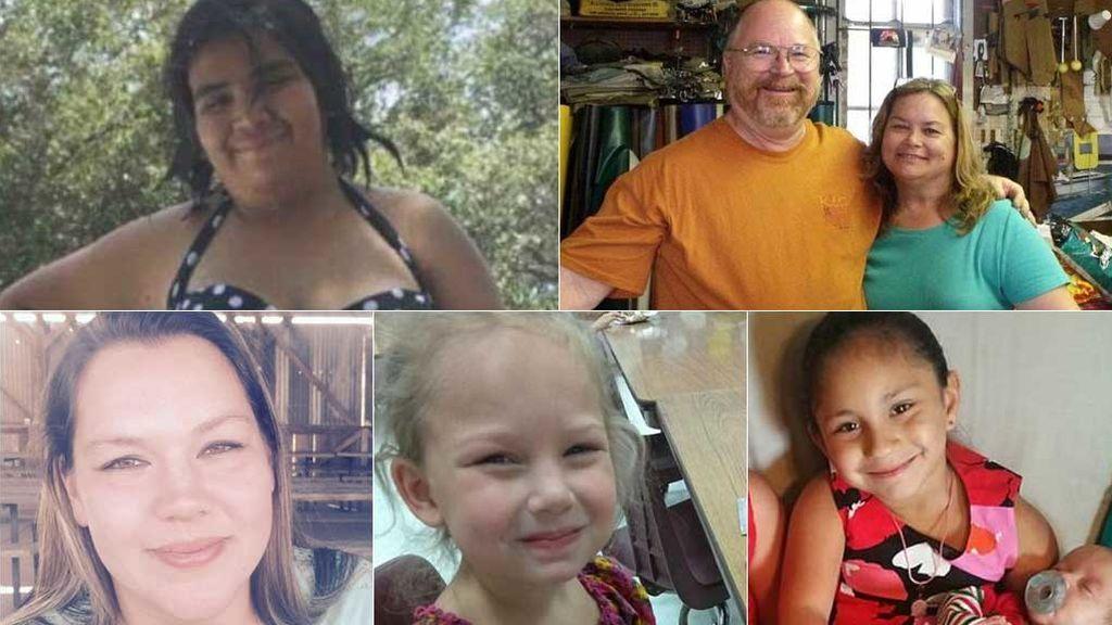 Las víctimas de la peor masacre en Texas: la hija del pastor, una embarazada y muchos niños