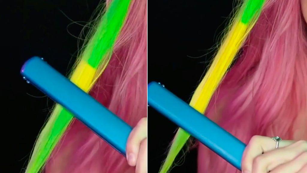 ¿Un tinte que cambia de color con la temperatura? Cinco consejos por si te lanzas a usarlo