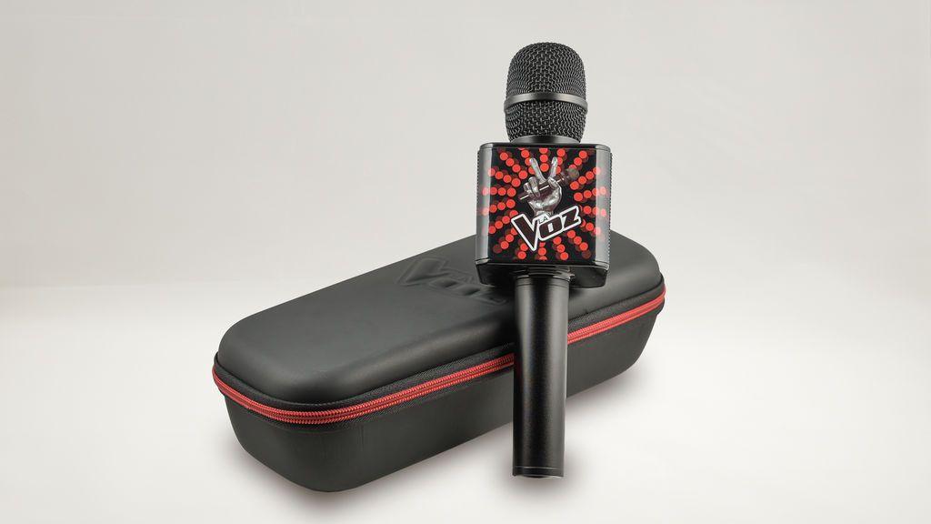 ¡Ya está a la venta el micrófono karaoke oficial de La Voz!
