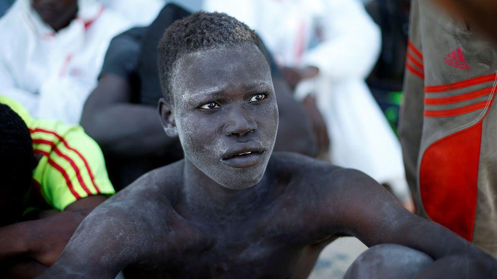 Los inmigrantes son rescatados en Libia por la Guardia Costera