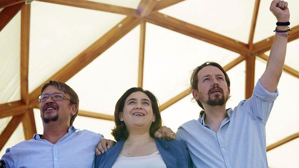 Los 'comuns' y Podem registran la coalición 'En Comú Podem-Catalunya en Comú'