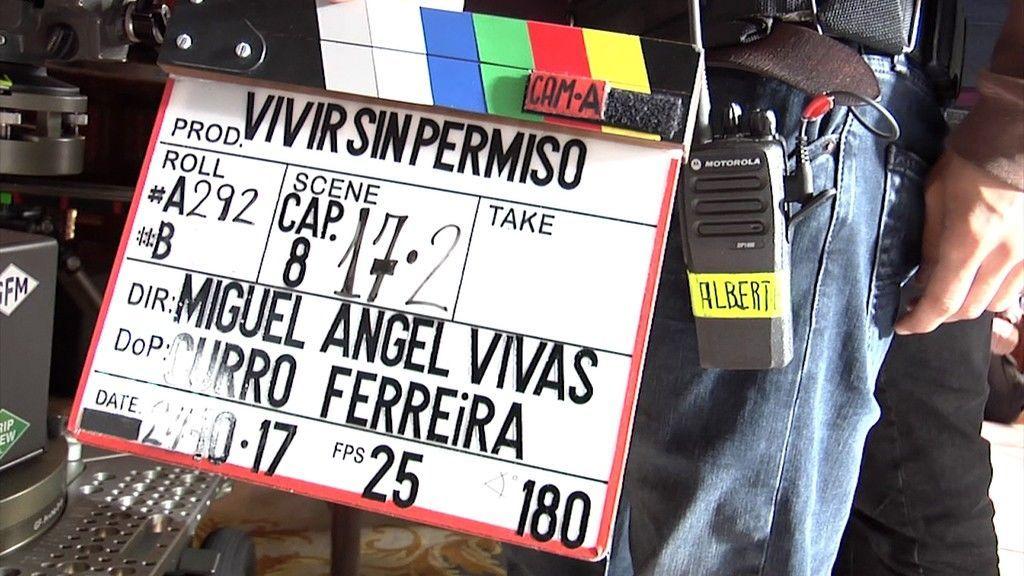 Leonor Watling y Patrick Criado se incorporan al rodaje de 'Vivir sin permiso'
