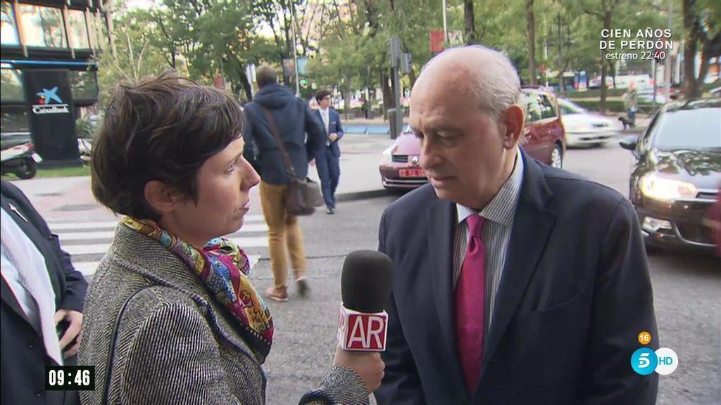 """Fernández Díaz: """"Sería grave que en Europa se pusiera en cuestión una orden europea de detención y entrega"""""""