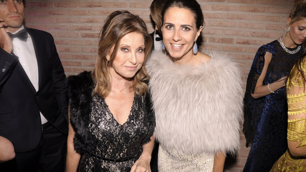 Purificación García y su hija Soledad Álvarez
