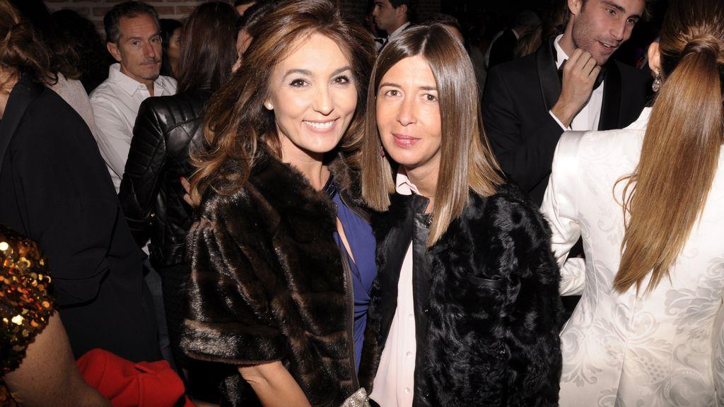 Marián Camino y Pilar Rallo