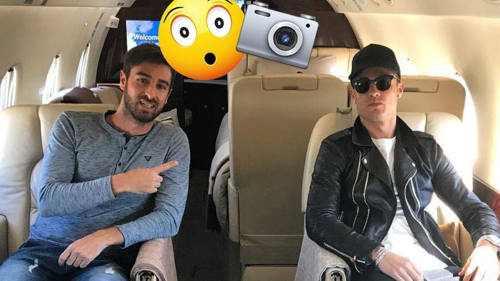 El inquietante detalle en la última foto de Cristiano Ronaldo dentro de su avión… ¿¡quién la hace!?
