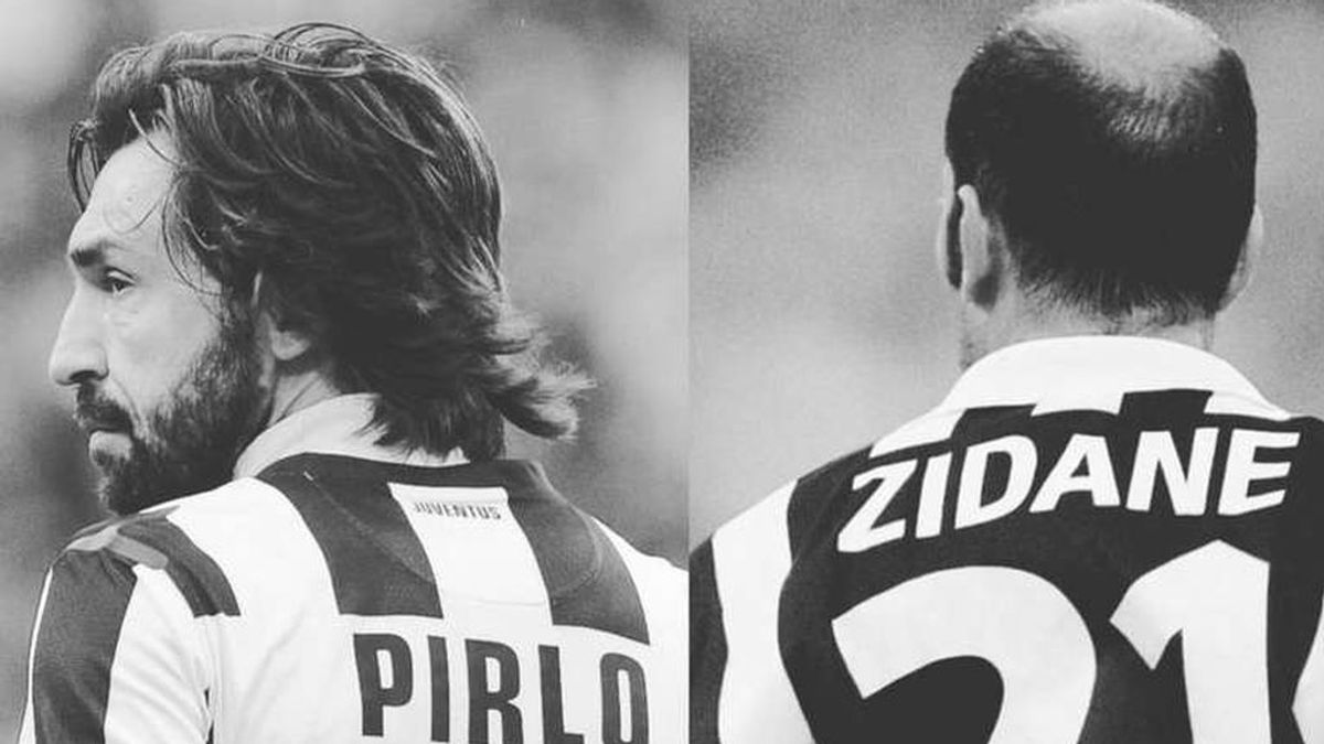 """De leyenda a leyenda, Zidane se despide de Pirlo: """"Muchas gracias, maestro"""""""