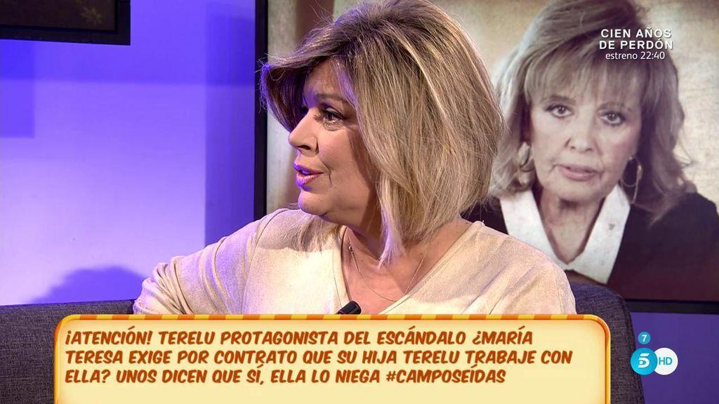 """Terelu Campos: """"Mi madre no daba crédito, mejor no te cuento lo que dijo"""""""