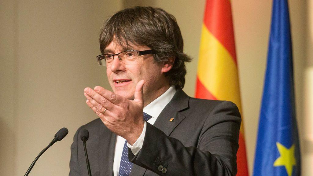 """Puigdemont acusa al Gobierno de """"fascismo"""" y denuncia la complicidad de Europa"""
