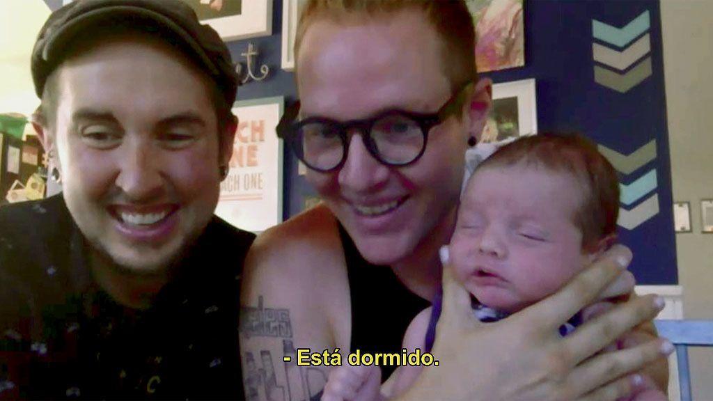 """Samanta conoce al pequeño Leo, el hijo de Trystan y Biff: """"Cuando salió fue la cosa más maravillosa del mundo"""""""