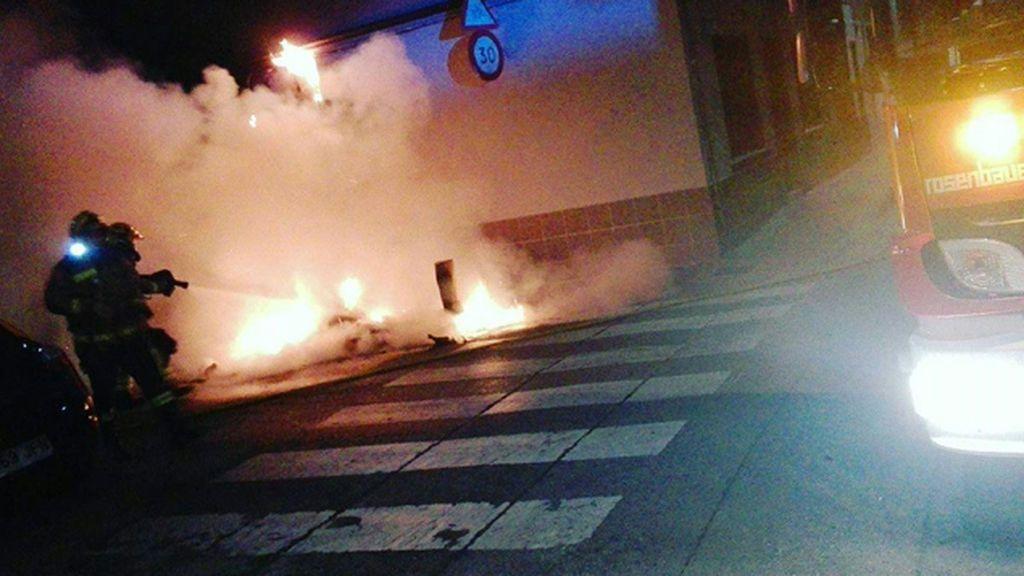 Quema vehículos Sabadell