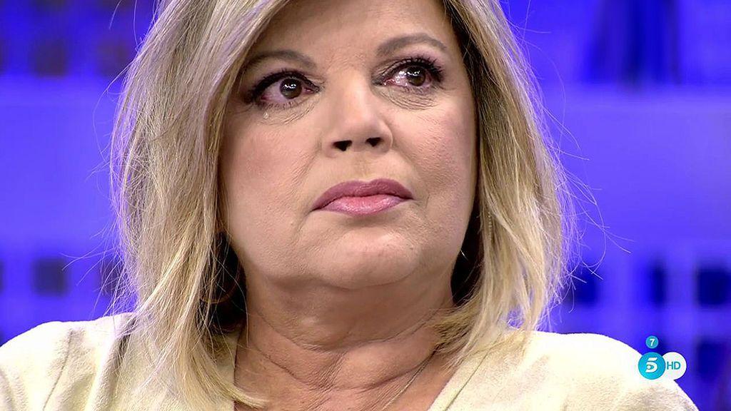 """Jorge Javier emociona a Terelu: """"Eres mejor presentadora que muchas otras"""""""