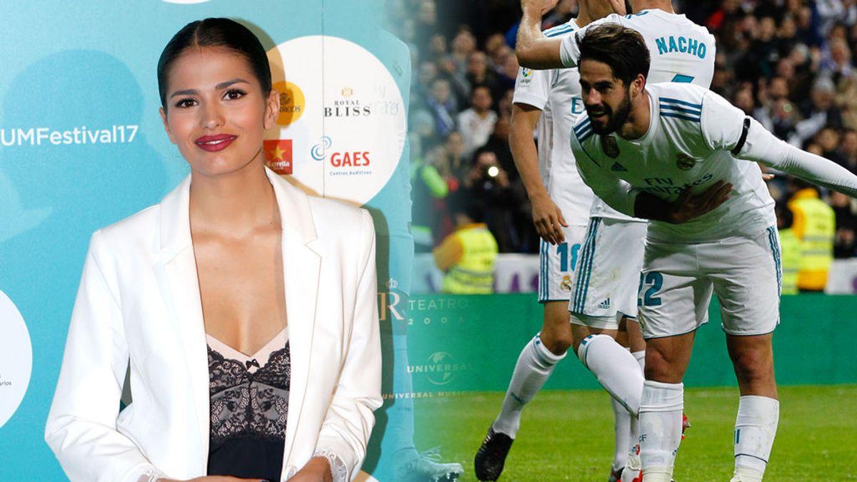 Sara Sálamo le manda el primer beso a Isco en Instagram
