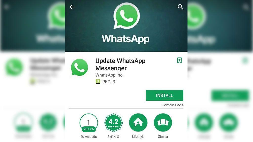 Más de un millón de personas caen en la trampa de un falso Whatsapp