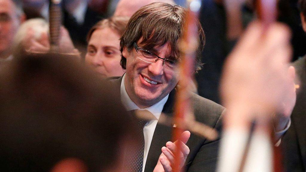 Puigdemont reaparece en Bruselas un acto con 200 alcaldes independentistas