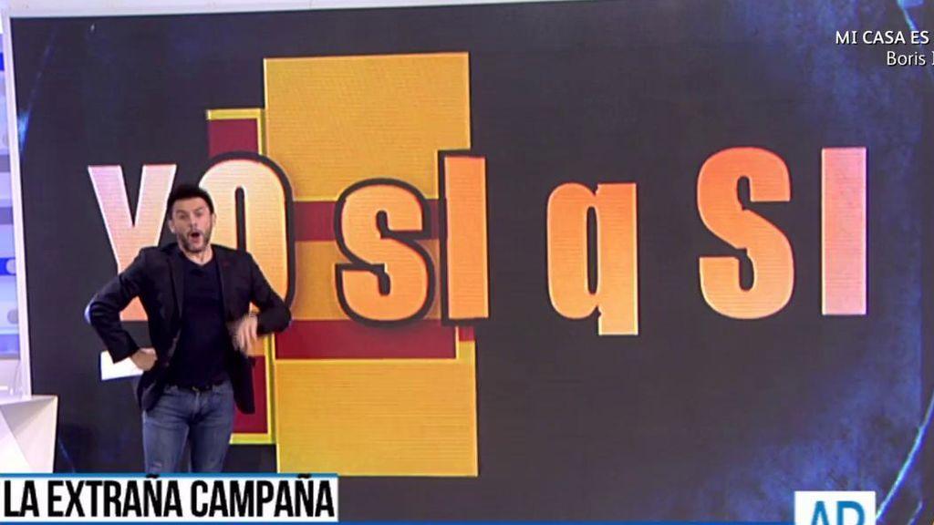 El audio viral con el baile de siglas de los partidos catalanes