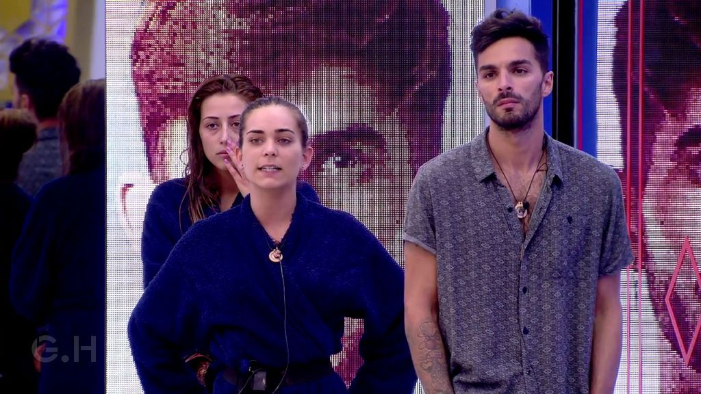 Cristian, Laura y Miriam