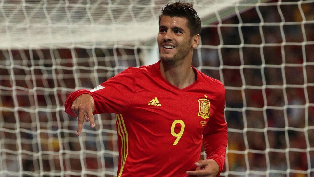 """Morata: """"Siempre es un orgullo estar con la selección"""""""