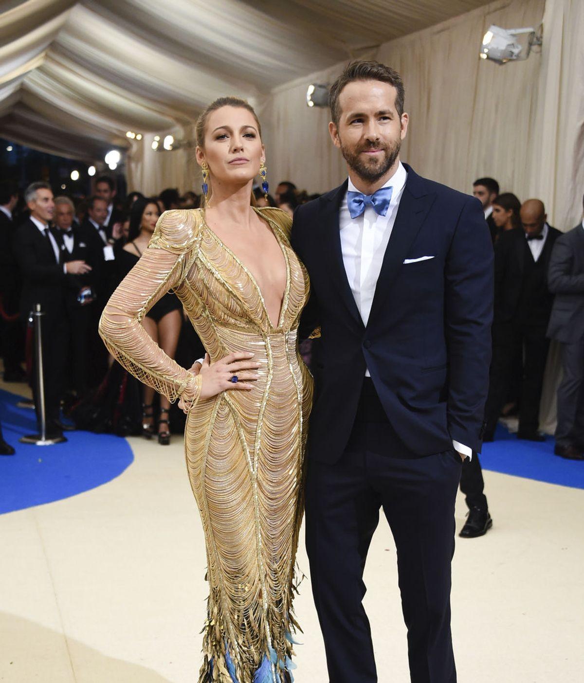 Ryan Reynolds publica unas fotos de su mujer Blake Lively en las que sale irreconocible