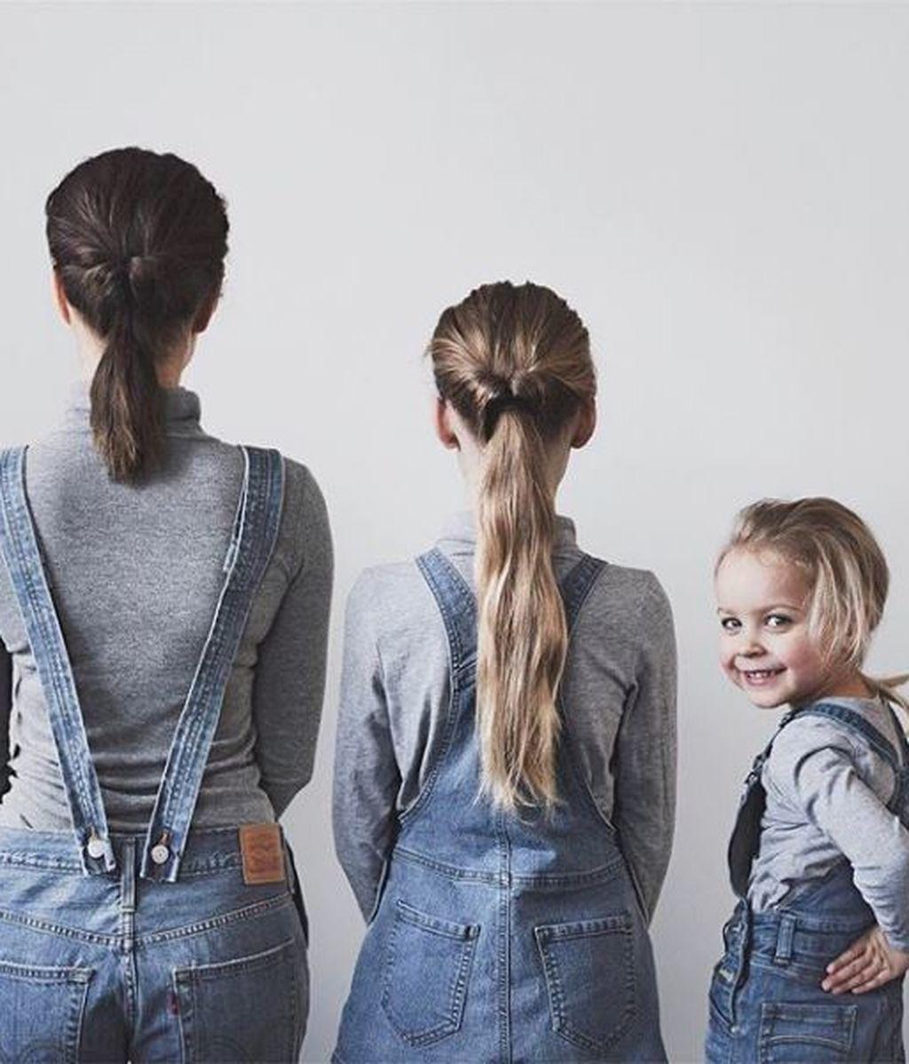 Las adorables fotos de esta madre con sus hijas te van a sacar una sonrisa