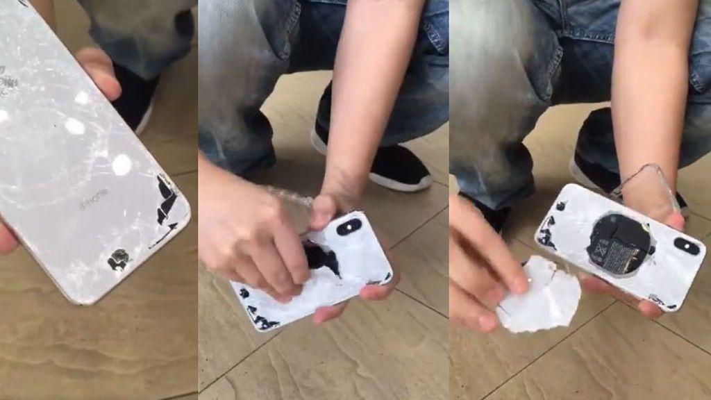 El iPhone X es el más frágil de todos los móviles de Apple, según un test