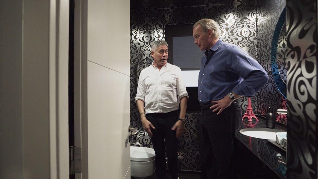 Bertín Osborne visita la casa de Boris Izaguirre en 'Mi casa es la tuya!