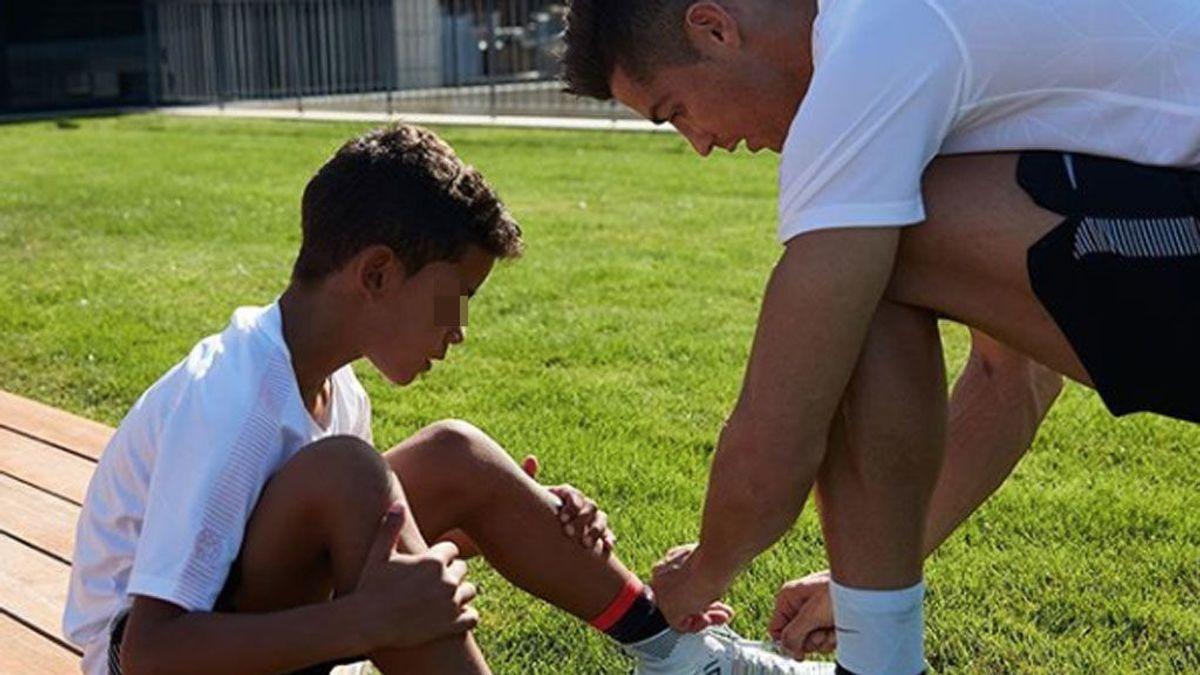 """Cristiano Ronaldo: """"Ser padre me ha ablandado. No veo el momento de serlo otra vez"""""""